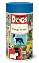 """""""Dogs - Hunde"""" Cavallini Vintage Puzzle"""