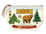 """""""Camping"""" Cavallini Vintage Mäppchen, Kosmetiktasche"""