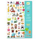 Stickerbögen: 1000 Sticker für die Kleinen von DJECO