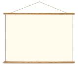 Vintage Poster Holzleisten horizontal (Rahmen) und Schnur zum Aufhängen, ohne Poster