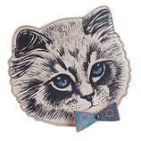 """Designer Mini Handtasche, Schultertasche """"Meow"""" von DISASTER"""