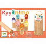 Motorik Spiele: Kyyänimo (Nordisches Kegelspiel) von DJECO