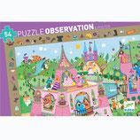 """Wimmelpuzzle  """"Prinzessin"""" 54 Teile   von DJECO"""