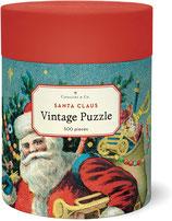 Santa Claus - Weihnachtsmann Cavallini Vintage Puzzle 500 Teile