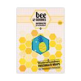 beeGoodies - XXL-Tuch Wiederverwendbare Frischhalte-Wraps mit Bienenwachs beschichtet