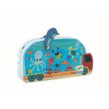 Silhouette Puzzle: Aquarium  - 16 Teile von DJECO