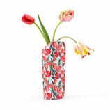"Papiervase ""Tulpen"" klein"