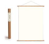 Vintage Poster Holzleisten vertikal (Rahmen) und Schnur zum Aufhängen, ohne Poster