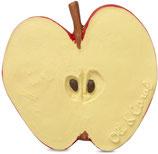 Apfel  Beissring, Badespielzeug aus 100% Natur-Kautschuk  (von Oli & Carol)