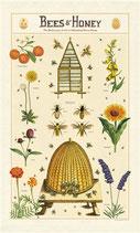 Bienen & Honig - Bees & Honey Geschirrtuch (Cavallini Papers & Co.)