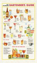 Bartender - Cocktail Geschirrtuch (Cavallini Papers & Co.)