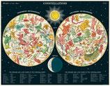 """""""Constellations - Sternkreiszeichen"""" Cavallini Vintage Puzzle"""