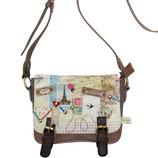 """Designer Handtasche """"Bon Voyage"""" (Mini Bag) von DISASTER"""