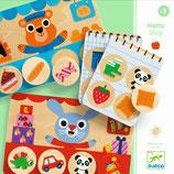 Holz Lernspiel: Memo Loto Shop von DJECO