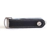 keycabin canvas-loop schwarz - für bis zu 13 Schlüssel -