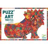 Puzzle :  Puzz'art - Löwe - 150 Teile  von DJECO DJECO