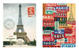 Notebook Set of 2  Paris Notebooks (Cavallini)