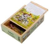 Petterson und Findus Kistenpuzzle (Fahrrad)