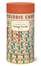 """Periodic Chart - Periodensystem"" Cavallini Vintage Puzzle"