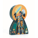 Silhouette Puzzle: Ritter des Vollmonds - 36Teile von DJECO