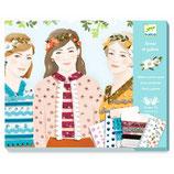 Papierkunst: 4 Jahreszeiten Mädchen von DJECO DJECO