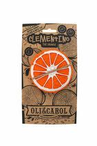 Orange - Apfelsine  Beissring, Badespielzeug aus 100% Natur-Kautschuk  (von Oli & Carol)