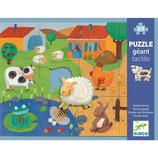 Bodenpuzzle: Fühlpuzzle Bauernhof von DJECO
