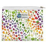 Zipper Sandwich Bag - Farmers Market - Gemüse, Früchte (von Planet Wise)