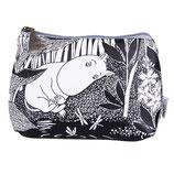 Moomin Kosmetiktasche - schwarz -, Make-Up Tasche von DISASTER