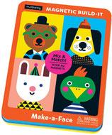 Magnet-Spiel: Make-a-Face - Gesichter von mudpuppy