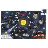 Wimmelpuzzle: Der Weltraum + booklet - 200 Teile von DJECO