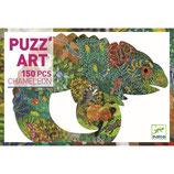 Puzzle :  Puzz'art - Chameleon - 150 Teile  von DJECO DJECO