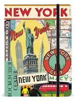 Cavallini Notizbuch, Notebook Vintage New York
