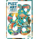 Puzzle :  Puzz'art - Octopus - 350 Teile  von DJECO DJECO