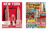 Notebook Set of 2  New York Notebooks (Cavallini)