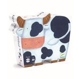 Silhouette Puzzle: Die Kühe auf dem Bauernhof - 24Teile von DJECO