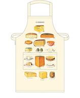 """Schürze """"Käse"""" (Cavallini Papers & Co.)"""