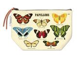 """""""Schmetterlinge - Butterflies"""" Cavallini Vintage Mäppchen, Kosmetiktasche"""