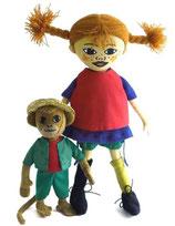 Pippi Langstrumpf und Herr Nilsson, Puppenset