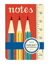 "2 Pocket Notebooks ""Office"" (Cavallini)"