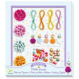Schmuck basteln: Perlen und kleine Mädchen von DJECO