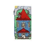 """Designer Geldbörse, Portemonnaie """"Moomin - Mumin Haus"""" von DISASTER"""