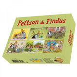 Petterson und Findus Würfelpuzzle (Hjelm)