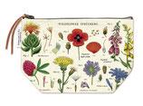 """""""Wildblumen"""" Cavallini Vintage Mäppchen, Kosmetiktasche"""