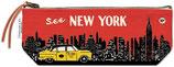 """""""New York"""" Cavallini Vintage Mäppchen, Federmäppchen, Schlampermäppchen"""