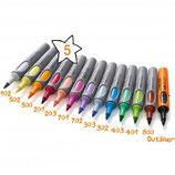 ArtMarker Neuland No.One®, Pinselspitze, 13er Farbset