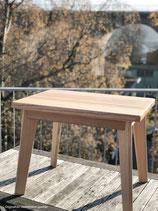 Kleiner Tisch von der Holzmanufaktur Dittmer - Esche 45 x 60 Unikat