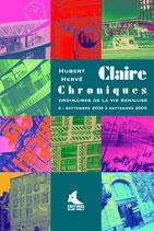 Claire, les chroniques ordinaires de la vie rennaise (Tome II)