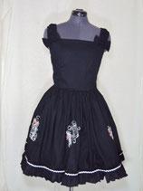 Dornröschen Kleid mit Stickerei
