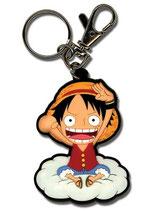 One Piece - Ruffy auf Wolke Schlüsselanhänger / Keychain